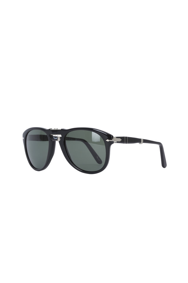 Keyhole Black Polarized Sunglasses