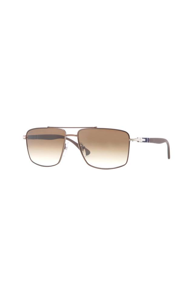 PO2430S Gunmetal Brown Sunglasses