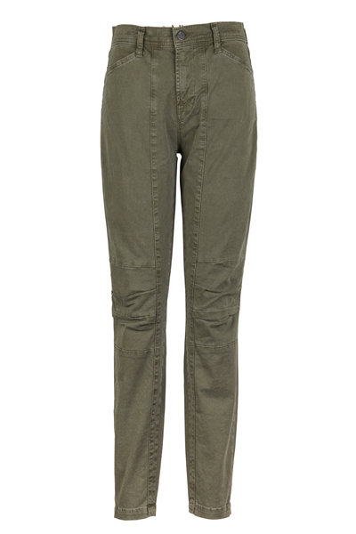 J Brand - Ginger Olive Green Stretch Twill Utility Pants