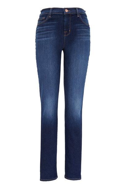 J Brand - Straight Leg Mid Rise Jeans