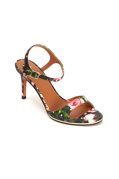 Givenchy - Classic Nappa Floral Sandals
