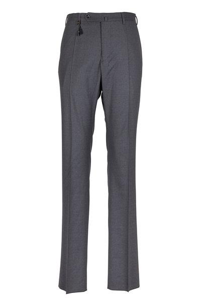 Incotex - Benson Dark Gray Tropical Wool Pant