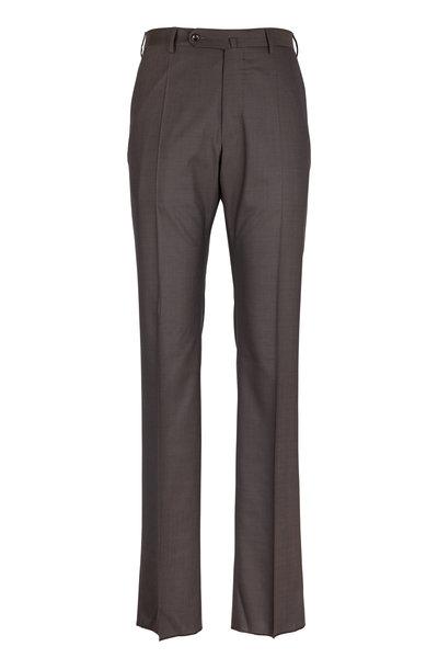 Incotex - Benson Brown Wool Pant