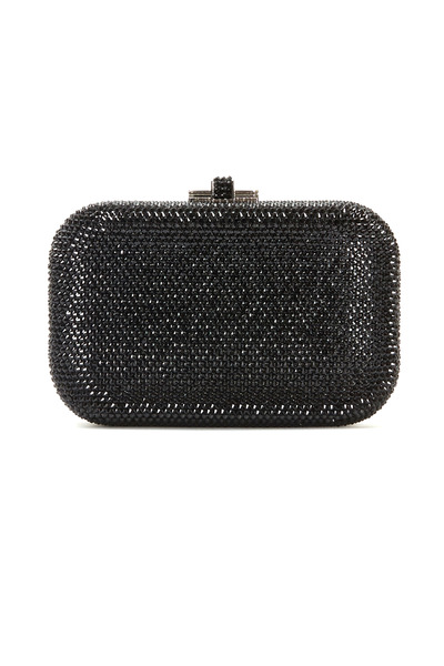 Judith Leiber Couture - Jelly Jet Black Beaded Minaudiere Clutch