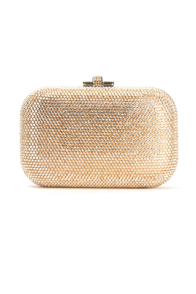 Judith Leiber Couture - Jelly Champagne Beaded Minaudiere Clutch