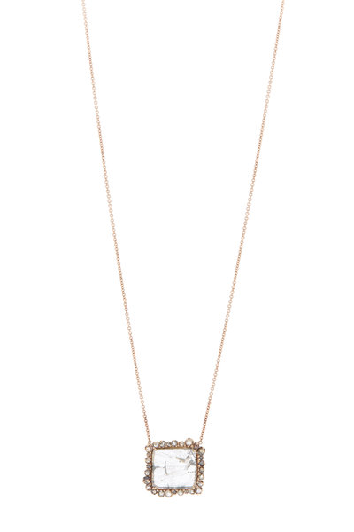 Kimberly McDonald - Rose Gold Diamond Necklace