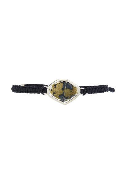Kimberly McDonald - Black Macramé Dark Geode Bracelet