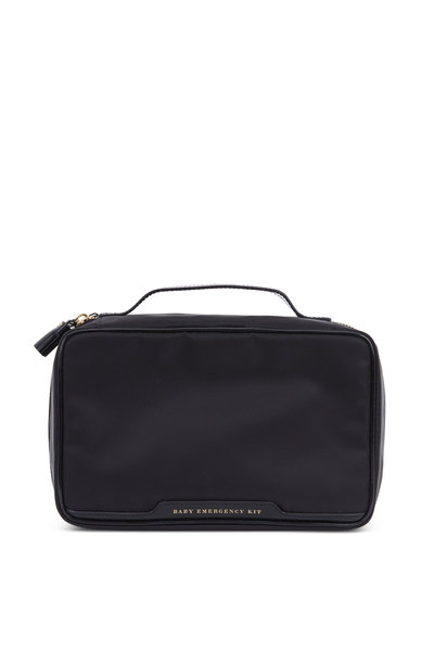 Anya Hindmarch - Black Nylon Baby Emergency Kit Bag