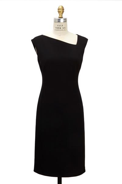 Ralph Lauren - Black Wool Double Face Dress