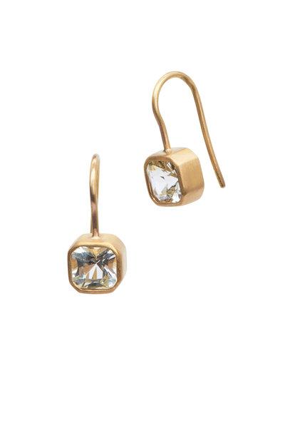 Caroline Ellen - 22K Yellow Gold Grossular Garnet Earrings