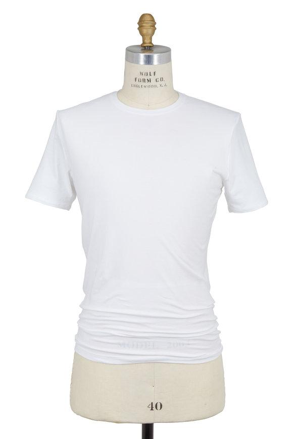 Tommy John White Cool Cotton Crewneck T-Shirt