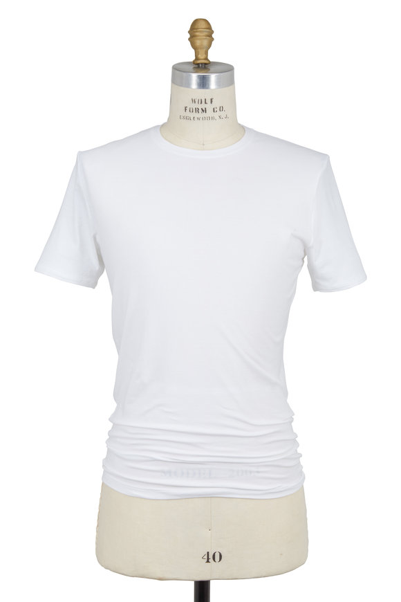 Tommy John White Cool Cotton Crewneck T-Shirt