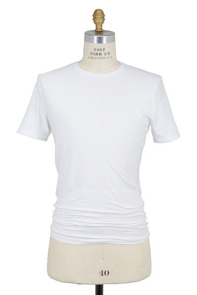 Tommy John - White Cool Cotton Crewneck T-Shirt
