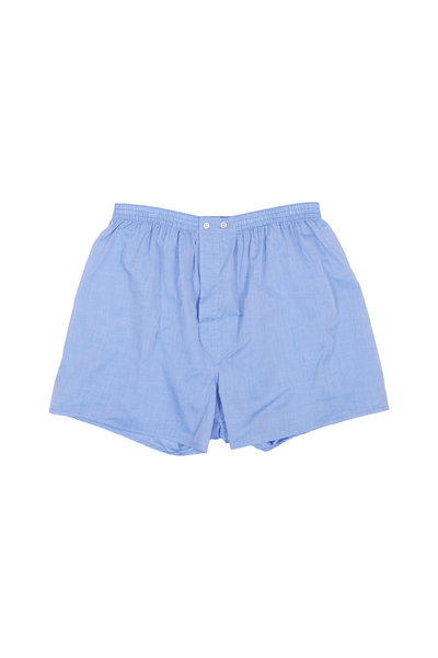 Derek Rose - Solid Blue Boxer Shorts