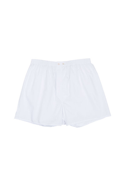 Derek Rose - Solid White Boxer Shorts