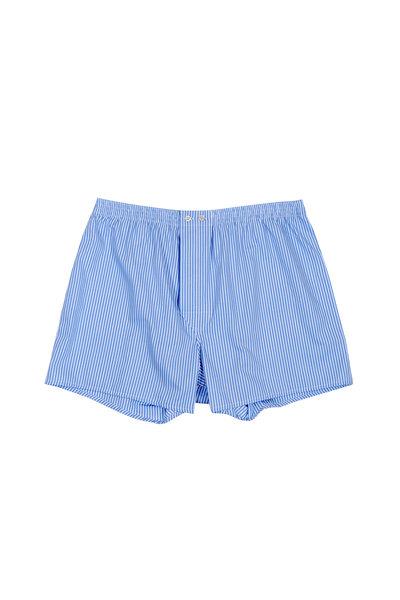 Derek Rose - Blue & White Striped Boxer Shorts
