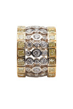 Louis Newman - 18K Yellow Gold Yellow Diamond Ring