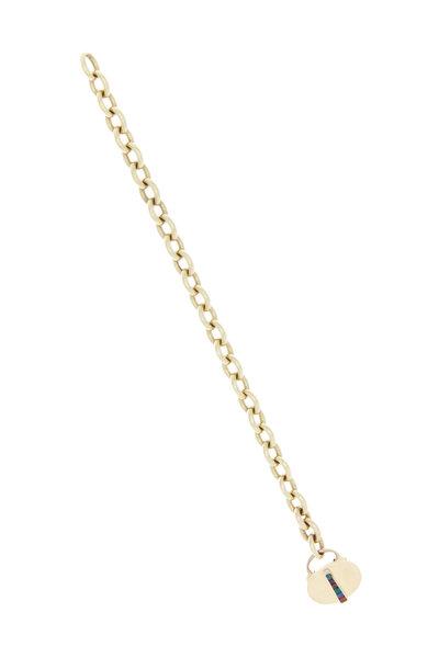 Fred Leighton - Yellow Gold Charm Bracelet