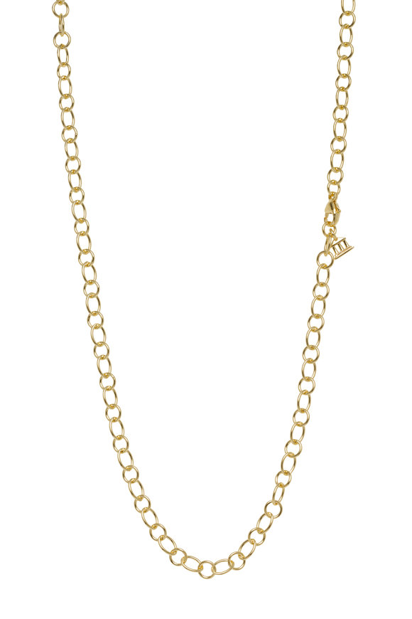 Temple St. Clair 18K Yellow Gold Ribbon Chain