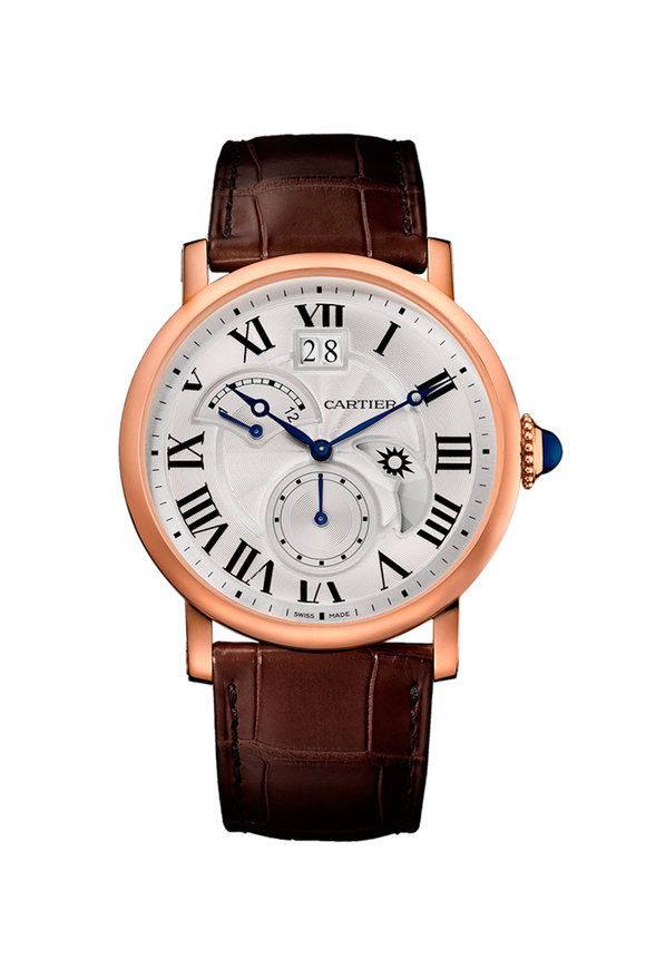 Cartier Rotonde 2nd Time Zone, Day/Night, Big Date Watch