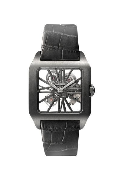 Cartier - Santos-Dumont Skeleton Watch, Extra-Large Model