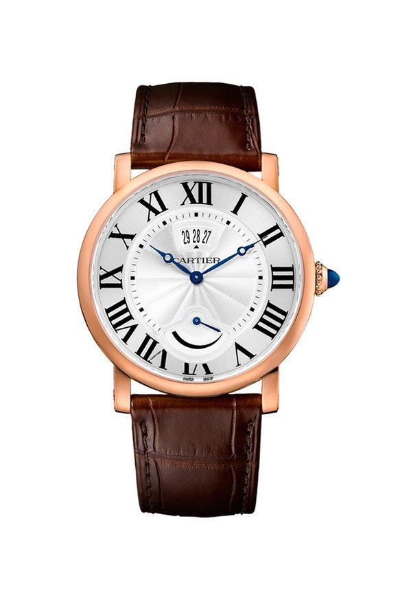 Cartier Rotonde De Cartier Calendar & Power Reserve Watch