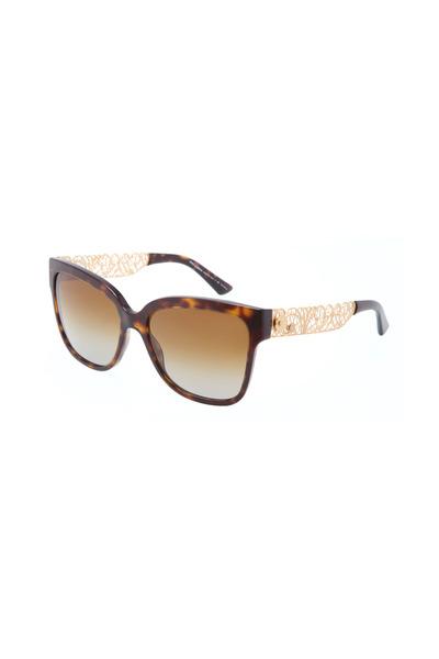 Dolce & Gabbana - Square Havana Sunglasses