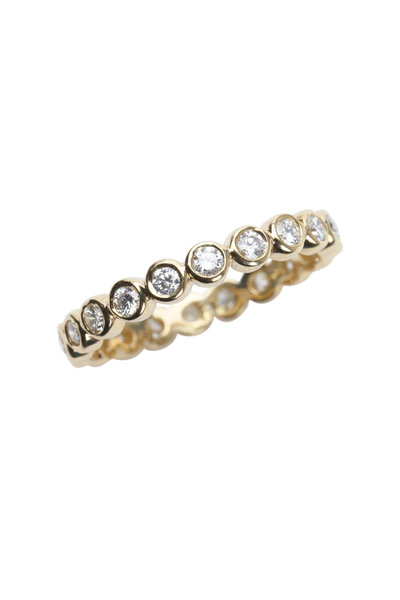 Temple St. Clair - 18K Yellow Gold Diamond Eternity Ring