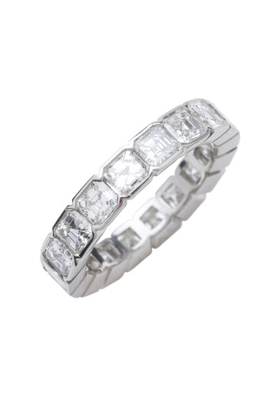 Kwiat - Platinum Asscher Cut Diamonds Ring