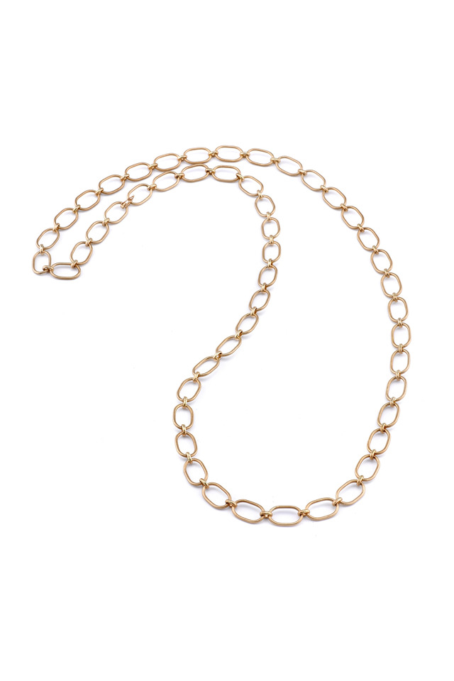 Rose Gold Large Link Chain Necklace