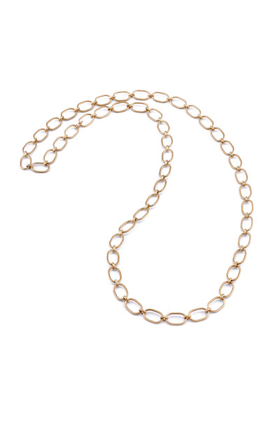 Irene Neuwirth - Rose Gold Large Link Chain Necklace