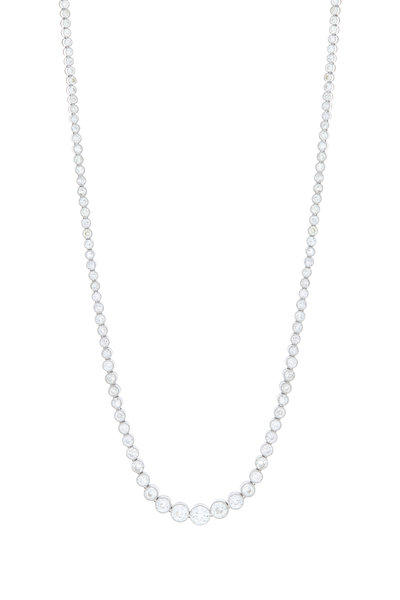 Fred Leighton - All Diamond Fancy Necklace