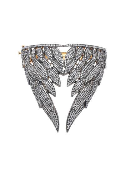 Loren Jewels - Gold & Silver Champagne Diamond Bracelet