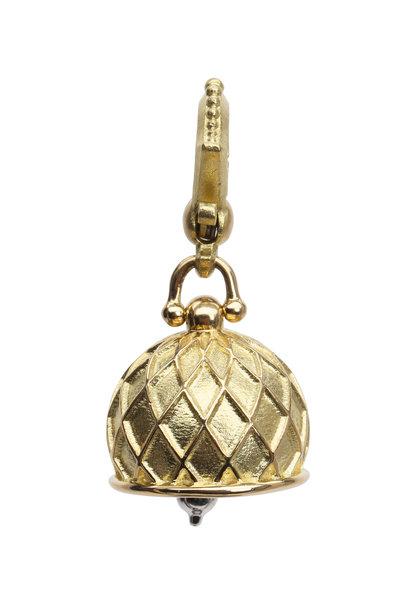 Paul Morelli - Meditation Bells Yellow Gold Vaulted Pendant