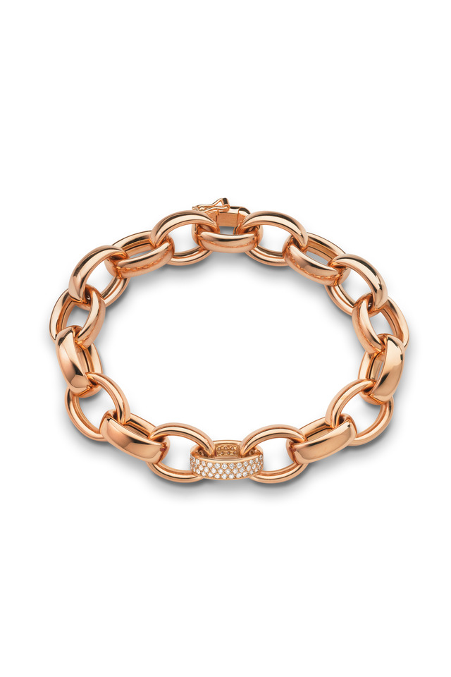 Marylyn Rose Gold Link Bracelet