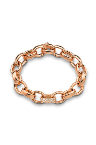 Monica Rich Kosann - Marylyn Rose Gold Link Bracelet