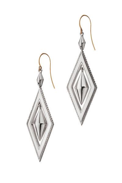 Monica Rich Kosann - Sterling Silver Drop Earrings