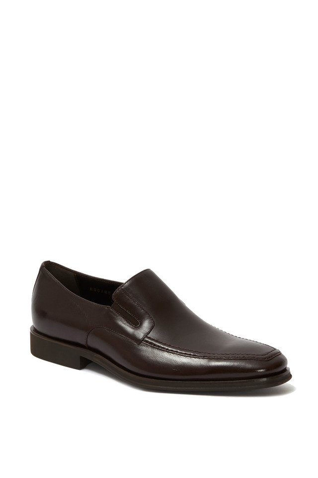 Raging Brown Leather Loafer