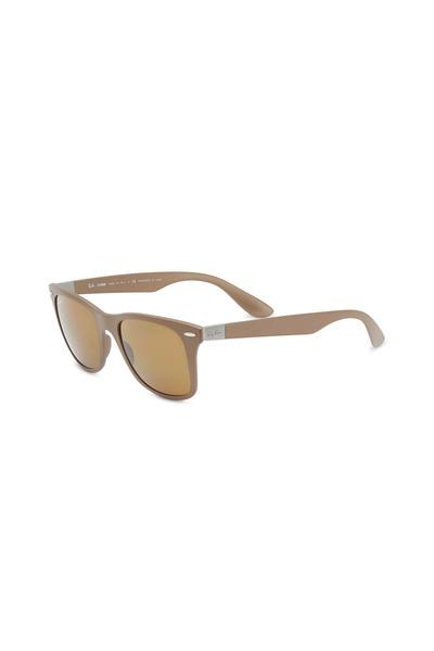 Ray Ban - Wayfarer Liteforce Brown Sunglasses