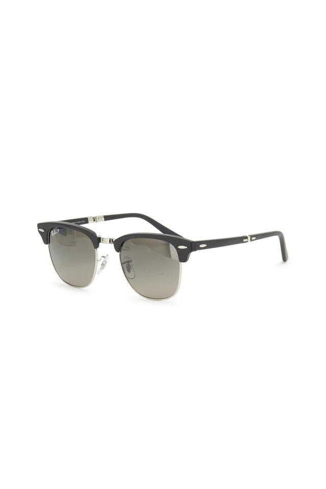 Clubmaster Folding Black Sunglasses