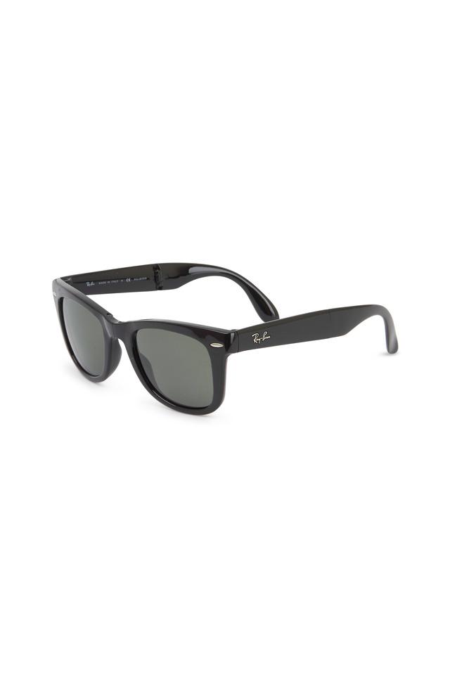 Classic Wayfarer Folding Black Sunglasses