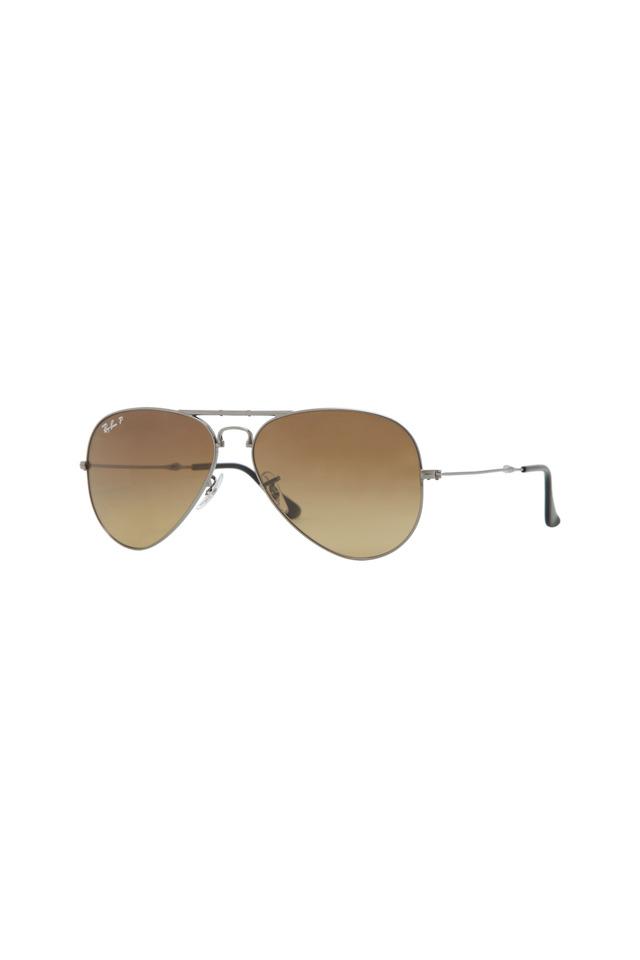 Aviator Folding Gunmetal Sunglasses