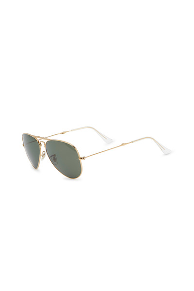 Ray Ban - Aviator Folding Gold Sunglasses