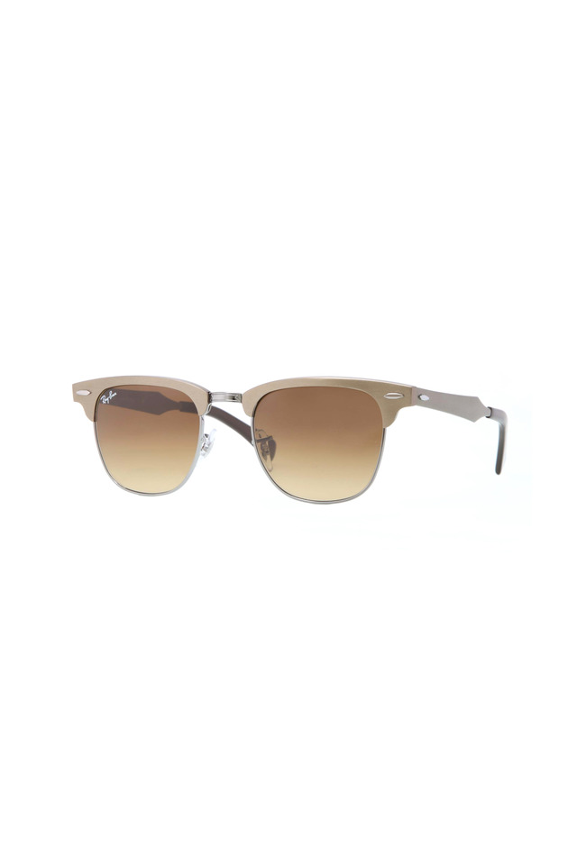 Clubmaster Light Brown Sunglasses