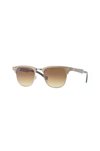 Ray Ban - Clubmaster Light Brown Sunglasses