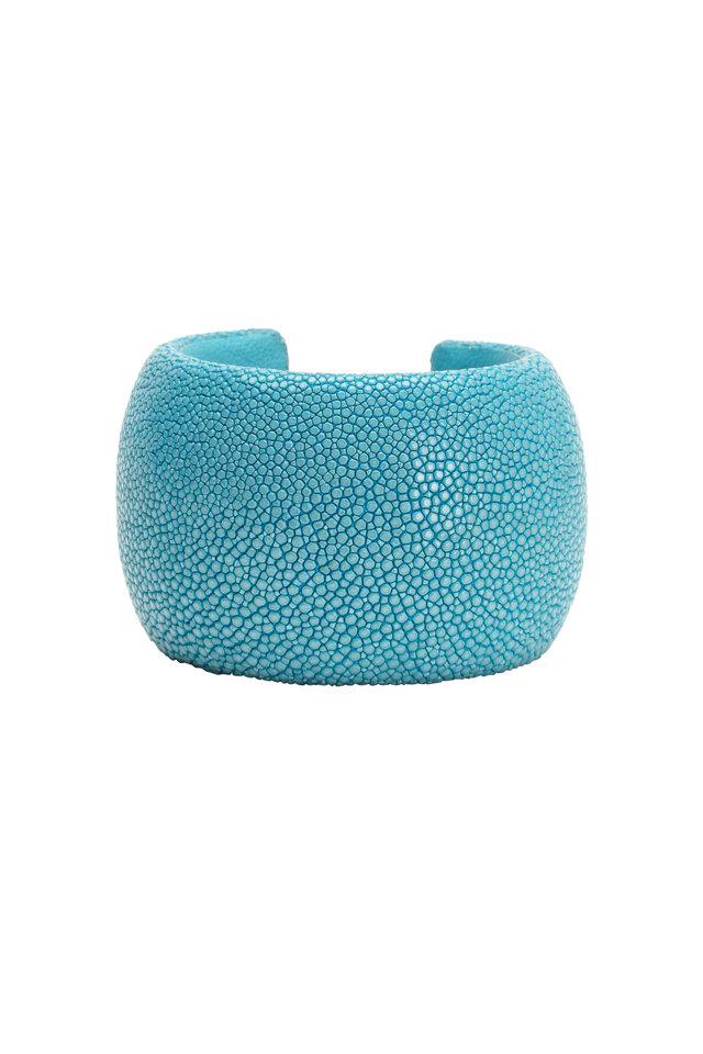 Turquoise Stingray Cuff Bracelet