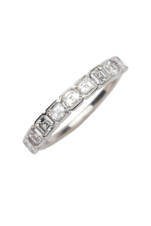 Platinum White Diamond Wedding Ring