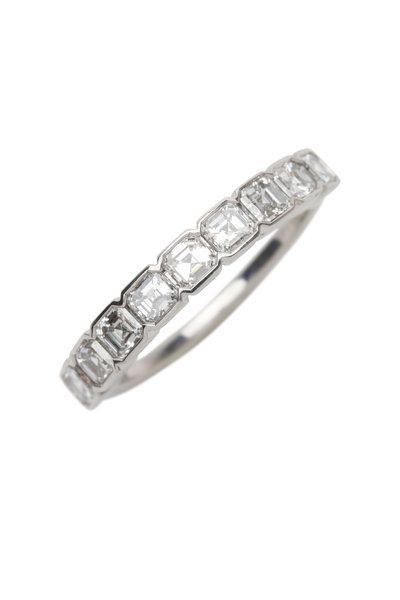 Kwiat - Platinum White Diamond Wedding Ring