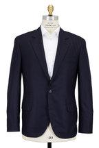 Brunello Cucinelli - Navy Blue Cashmere Sportcoat