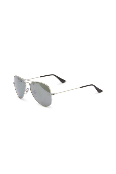 Ray Ban - Aviator Large Silver Sunglasses